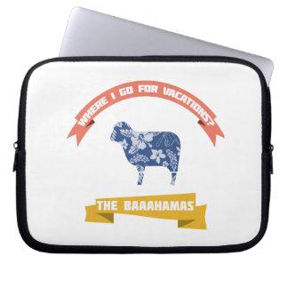 Sheep Joke Laptop Sleeves