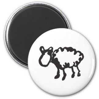 Sheep Refrigerator Magnet