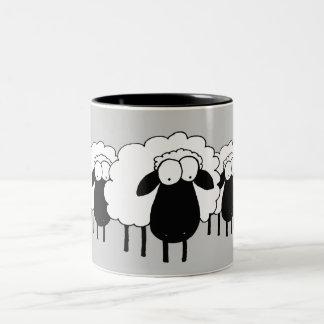 Sheep Two-Tone Mug