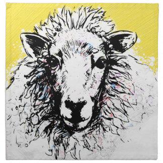 Sheep Napkin