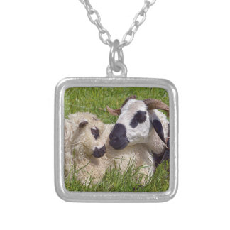 Sheep of Thones et Marthod Silver Plated Necklace