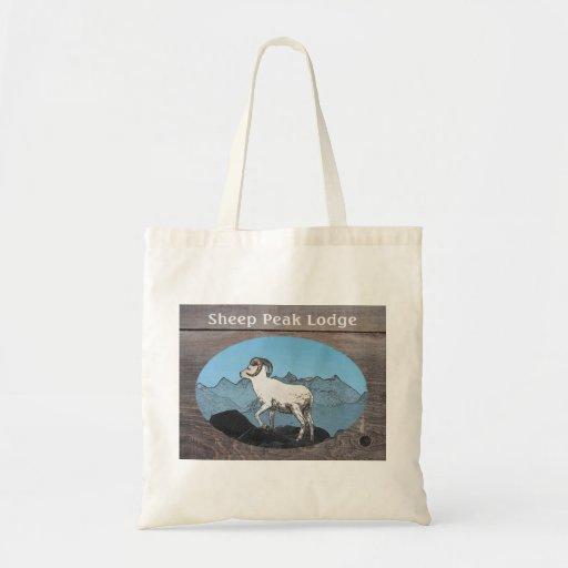 Sheep Peak Lodge Canvas Bag