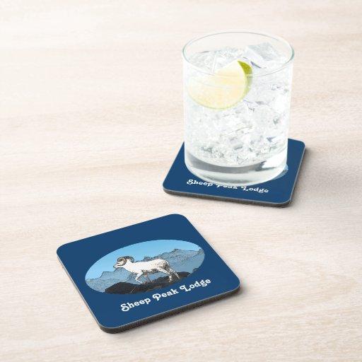 Sheep Peak Lodge Drink Coaster