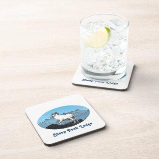 Sheep Peak Lodge Beverage Coaster
