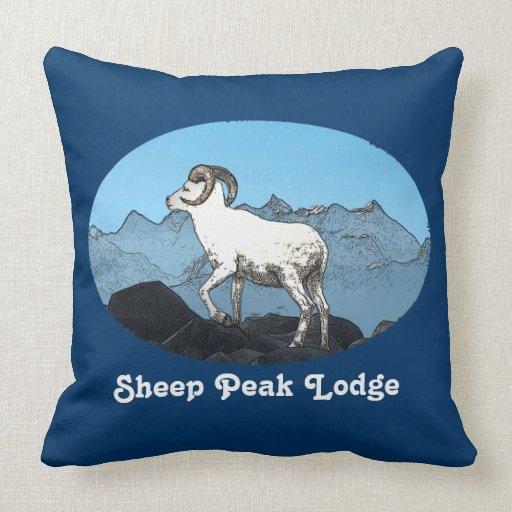 Sheep Peak Lodge Pillow