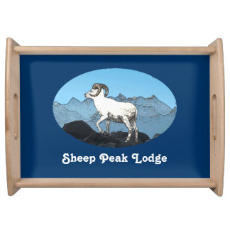 Sheep Peak Lodge Serving Platter