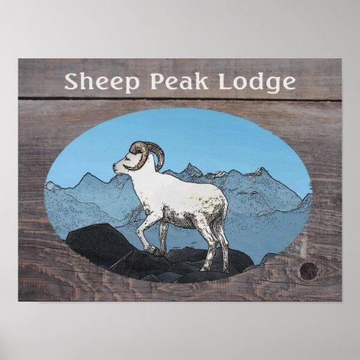 Sheep Peak Lodge Poster