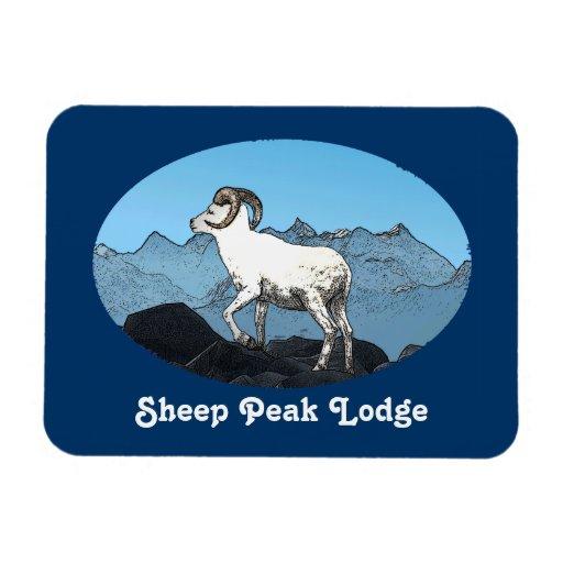Sheep Peak Lodge Magnets