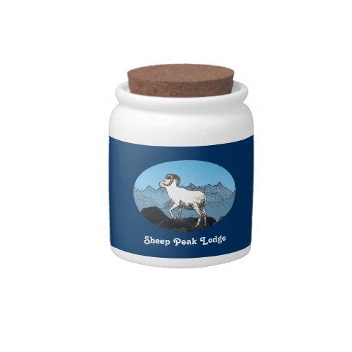 Sheep Peak Lodge Candy Jars