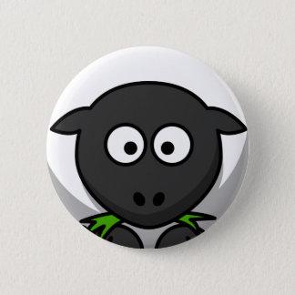 Sheep Skin 6 Cm Round Badge