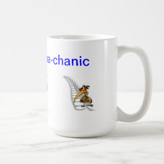 sheep, Tools, kiwi, The Ma-aa-aa-chanic Coffee Mug