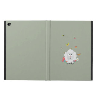 Sheep with flowers and butterflies Z1mk7 Powis iPad Air 2 Case