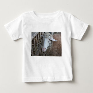 Sheep with hay baby T-Shirt