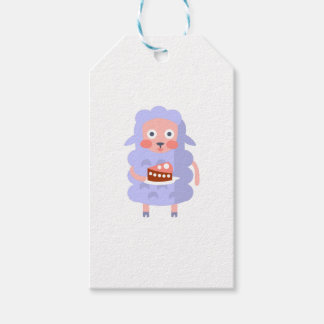 Sheep With Party Attributes Girly Stylized Funky S Gift Tags