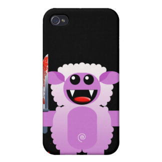 SHEEP WITH SHARP KNIFE iPhone 4/4S COVER