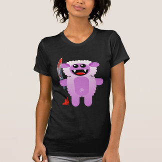SHEEP WITH SHARP KNIFE T SHIRT