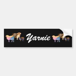 Sheep Yarnie Bumper Sticker