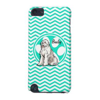 Sheepdog Aqua Green Chevron iPod Touch (5th Generation) Cover