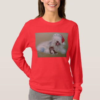 Sheepdog Christmas T-Shirt