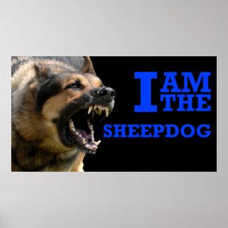 Sheepdog K9 - Police Poster