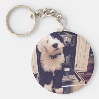 Sheepdog Love Key Ring