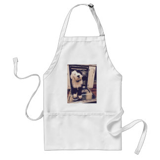 Sheepdog Love Standard Apron