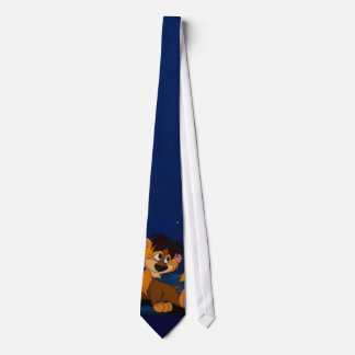 sheepish lion tie