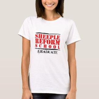 Sheeple Reform School Graduate T-Shirt
