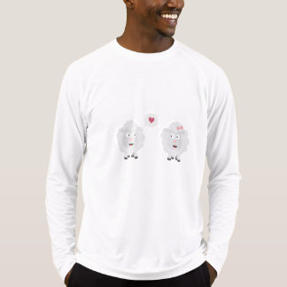 Sheeps in love with heart Z7b4v T-Shirt