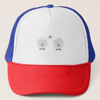 Sheeps in love with heart Z7b4v Trucker Hat