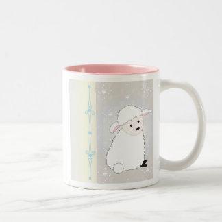 Sheepy Two-Tone Coffee Mug