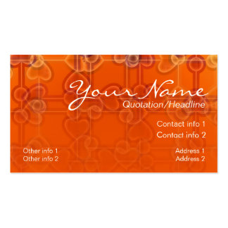 Sheer Hearts Business Card