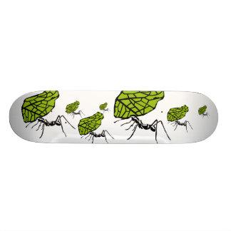 Sheet cut ant nature Stencil Skateboard