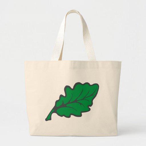 sheet leaf canvas bags