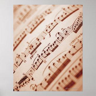 Sheet Music 5 Poster