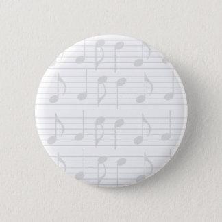 Sheet Music 6 Cm Round Badge