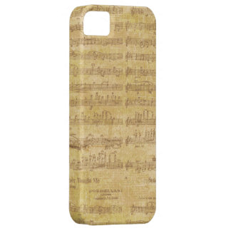 Sheet Music Barely There iPhone 5 Case