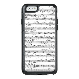 Sheet Music for the Overture to 'Egmont' OtterBox iPhone 6/6s Case