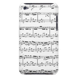 Sheet Music iPod Touch White iPod Case-Mate Case