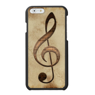 Sheet-Music Notation on Parchment for Music-lovers Incipio Watson™ iPhone 6 Wallet Case