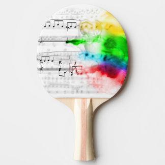 sheet music ping pong paddle