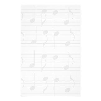 Sheet Music Custom Stationery