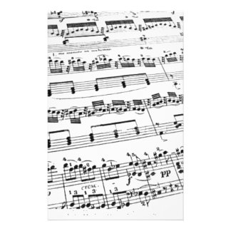 Sheet Music Customized Stationery