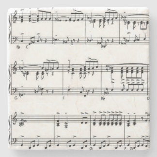 Sheet Music Stone Coaster