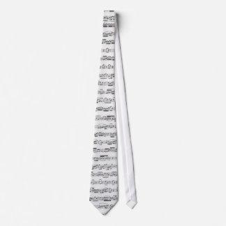 Sheet Music Tie