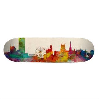 Sheffield England Skyline Skate Deck