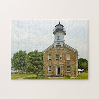 Sheffield Island Lighthouse, Connecticut Jigsaw Puzzle