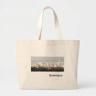 Sheffield Landscape picture Large Tote Bag