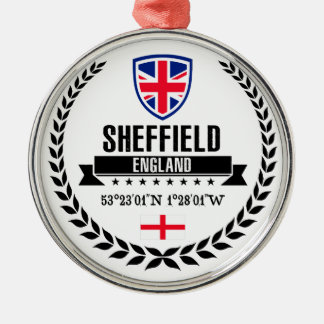 Sheffield Metal Ornament