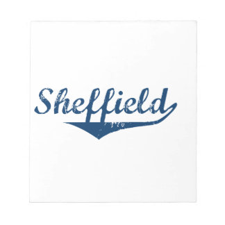 Sheffield Notepad